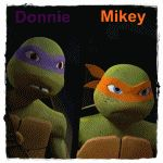 Donnie and Mikey love each other and this proves it now all we need is another one about Leo and Raph!!!