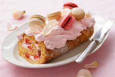No Bake Desserts, Delicious Desserts, Dessert Recipes, Dessert Food, Finnish Recipes, Macarons, Rolls, Pudding, Cupcakes