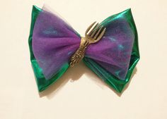 Little mermaid bow for your birthday girl :)