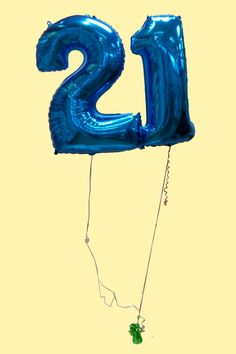 Number 21 Balloon Perfect To Decorate For A 21st Birthday Party Balloons