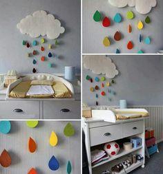 Cocuk odasi icin guzel bir fikir