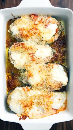If you crave more eggplant with your eggplant parmesan, look no further than these savory, saucy boats. If you crave more eggplant with your eggplant parmesan, look no further than these savory, saucy boats. Vegetable Recipes, Vegetarian Recipes, Chicken Recipes, Cooking Recipes, Healthy Recipes, Salad Recipes, Eggplant Dishes, Eggplant Recipes, Breakfast Recipes