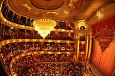 The Philadelphia Academy of Music, home to the mighty Philadelphia Symphony Orchestra.