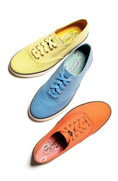 Yellow, Blue, or Orange? The new Sperry Top-Sider CVO Sneaker