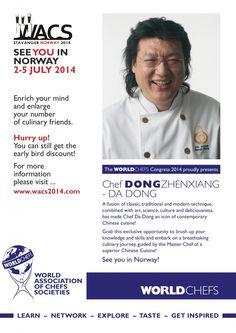 Congress Spotlight - Chef Da Dong, Master of Chinese Cuisine | World Association of Chefs Societies