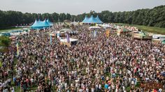 Overzicht van boven @ A Day at the Park 2014