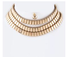 Three Layered Gold Necklace