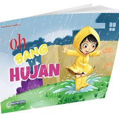 Buku Cerita Anak PAUD - Oh Sang Hujan