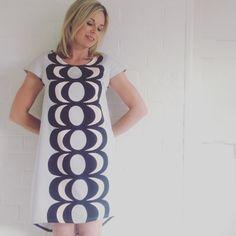 Marimekko kaivo dress by karlacola on Etsy