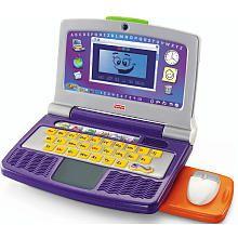"Kids Laptop, Fisher-Price Color Flash Laptop, Learning Laptop - Toys""R""Us $24.98"