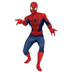 The Amazing Spiderman 2 2nd Skin Spiderman Costume Adult