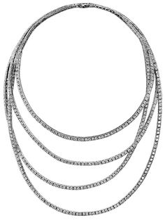 White gold Diamond Necklace - Piaget Luxury Jewellery G37LC200