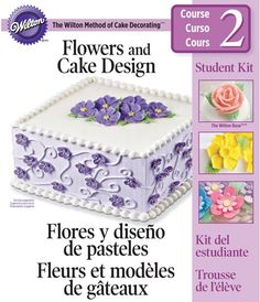 Captura de pantalla 2014-05-03 a las 13.04.31 Cake Decorating Books, Buttercream Flowers, Sweet Cakes, Kit, Ideas Para, Baking Recipes, Sweet Tooth, Decorative Boxes, Desserts