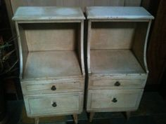 night stands, the style not the color, would put the lamp at the right height!
