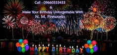Book Birthday Fireworks Display Services At Unbelievable Price