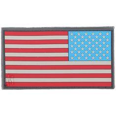 U.S.A FLAG MAP PVC MORALE PATCH SHOT SHOW 2019