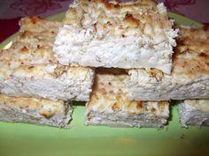 Plăcintă dulce cu brâză de vaci și mărar