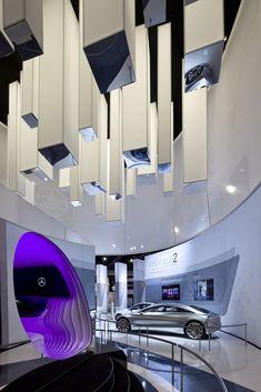 Mercedes-Benz CES Exhibit by Joe Tedesco at Coroflot.com