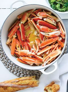 Check out our selection of recipes starring seasonal crab.