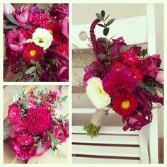 Przepiękny ślub w kolorach bordo, fioletu w klimacie nadchodzącej jesieni:) #weddinbouquet #bukietslubny #kochamjesieien #bordo#dalie #wrzosy #astry #eustoma