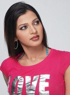 Bangladeshi cinema actress Borsha.
