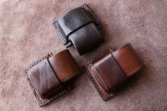 Leather pouches for Zippo lighters | MK Leathers