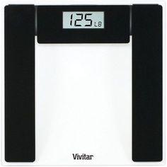 Vivitar - BodyPro Digital Bathroom Scale - Clear, PS-V132-C