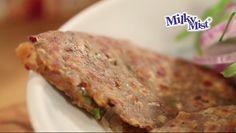 Stuffed Paratha, Kidney Beans, Food Videos, Onion, Spicy, Recipies, Pork, Tasty, Cheese