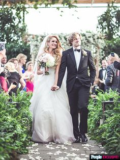 Ice Dancer Tanith Belbin's Wedding Dress Photos: StyleWatch People