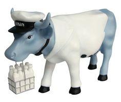 Cow Parade Vaca Milkman Figurine Cow Parade