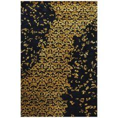 Vlnený koberec New Jersey Gold, 122x183 cm