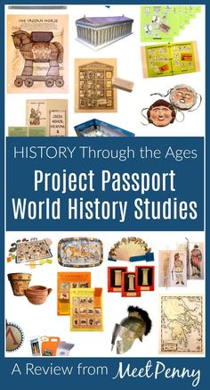 Home School in the Woods offers a homeschool history curriculum providing a hands-on, project-based world history curriculum to keep learning fun! The Effective Pictures We O World History Projects, World History Classroom, World History Teaching, World History Lessons, History For Kids, History Of The World, History Teachers, Project Based Learning, Fun Learning