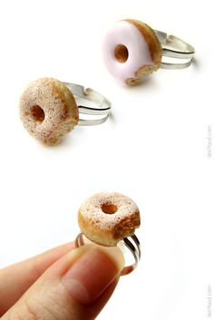 Donuts Rings by allim-lip on DeviantArt
