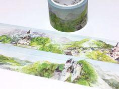 Fairy Tale Castle of Europe washi tape 5Mx 3cm fairytale