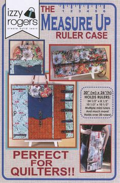 click here to view larger image of Measure Up Ruler Case (PATTERNS)