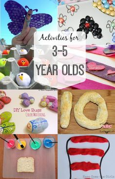 for Year Olds This is great! A list of fantastic fun activities your year old will love! A list of fantastic fun activities your year old will love! Activities For 5 Year Olds, Crafts For 3 Year Olds, Craft Activities For Kids, Toddler Activities, Preschool Activities, 5 Year Old Games, 3 Year Old Craft, 4 Year Olds, 1 Year