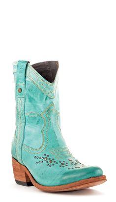 Womens Liberty Black Mulan Boots Turuqueza Style Lb-71116turq | Liberty Black | Allens Boots