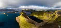 Planet Iceland - EN: My Iceland trip goes to the end in 3 days. My second photography group went back home to Switzerland yesterday and I will head to North-Iceland to finish my new North-West-Iceland-Workshop. This image has been taken over the Langisjor Lake - one of my favorite places in the highlands. It's funny, along the ringroad and the southcoast of Iceland sometimes there are 1000 people standing around a small waterfall and it's crowded like in big cities but in the highlands…