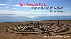 If you're looking for a less-traveled, hidden gem of a hiking spot in Los Angeles, Tuna Canyon Park in the Santa Monica Mountains is it. Hikes In Los Angeles, Los Angeles Area, Camping In Georgia, Los Angeles With Kids, Santa Monica Mountains, Canyon Park, Hiking Spots, Hiking With Kids, Mountain Hiking