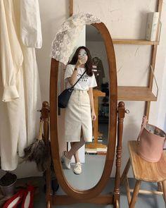 Korean Girl Fashion, Korean Fashion Trends, Ulzzang Fashion, Korean Street Fashion, Korea Fashion, Kpop Fashion, Asian Fashion, Korean Casual Outfits, Cute Casual Outfits