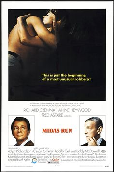 Midas Run - USA (1969) Director: Alf Kjellin