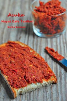 Acuka Tarifi – Hayat Cafe Kolay Yemek Tarifleri – Kahvaltılıklar – The Most Practical and Easy Recipes Turkish Recipes, Italian Recipes, Meat Recipes, Pasta Recipes, Cafe Recipes, Healthy Recipes, Mezze, Turkish Breakfast, Salsa Picante