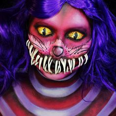 Amazing Face Paintings by Jordan Hanz