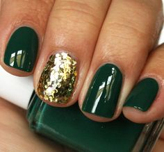 st. patty's nail idea