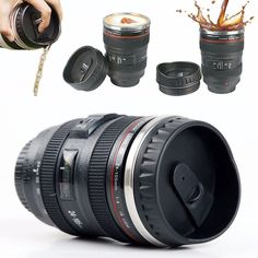 - With 13.5oz / 400ml Capacity, this Coffee Mug is a replica of Canon Lens Model EF 24-105mm f / 4L IS USM Lens, perfect for the photographer in your life! - Made of food grade ABS plastic materials o