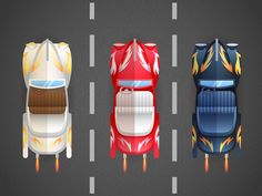 How to Create a Bird's-Eye View of Retro Cars in Adobe Illustrator by Yulia Sokolova, 27 Jan 2016