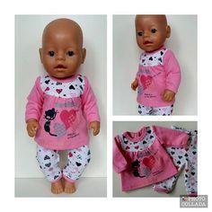 ideas for baby born kleertjes Crochet Barbie Clothes, Doll Clothes, Baby Born Clothes, New Baby Names, Baby Sleep Schedule, Baby Boy Pictures, Baby Alive, Baby Cards, Crochet Baby
