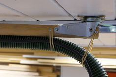 DIY ceiling mounted boom