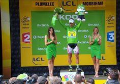 Green jersey AGAIN !