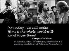 Hamza Ali Abbasi - Actor & Director: *Zong Ad: https://www.facebook.com/photo.php?v=592640320803254